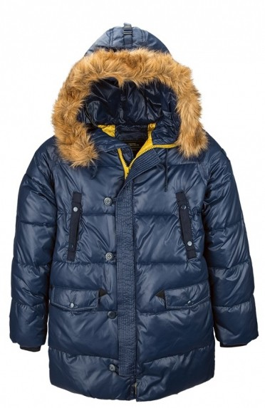 Пуховик N-3B Transmitter Parka Alpha Industries Blue